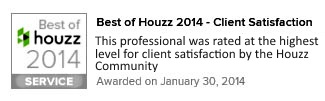Houzz Recognition Award 2014